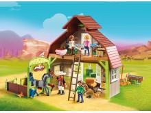 Stall mit Lucky, Pru & Abigail von PLAYMOBIL (70118)