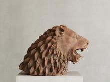 Lejon, terrakotta, Italienskt 1700-tal, Sjöström Antik, Grand Antiques 2018