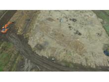 Luftfoto af stormandsgården
