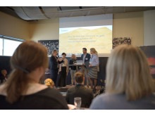 Anna Nilsson, Ledarna, Maria Söderberg, Dare Consulting , Lena Abrahamsson, LTU, Martin Eman, Boliden, &  Åsa Allan, Kaunis Iron,.