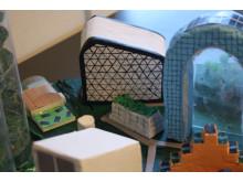 Modell Future City Birkaskolan Mälaröarnas Montessoriskola