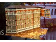 Goethe Chocolaterie - Schaustück der Buntgarnwerke Leipzig aus 100 Prozent Schokolade