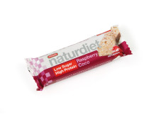 Naturdiet Raspberry Coco bar
