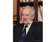Hans Hamrin, ordförande i Svenska Mustaschklubben