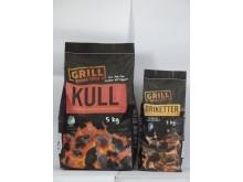 Svanemerket grillkull og grillbriketter fra REMA 1000