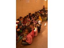 Matprogram för barn i riskzonen