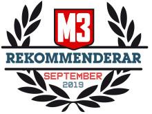 09 - September 2019 - M3 rekommenderar
