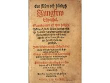 Conrad Portas Een sköön och härligh jungfru speghel, 1601