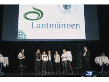 """Lantmännen tar emot priset """"Sveriges mest hållbara varumärke 2014"""""""