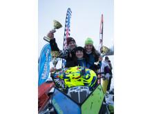 Hemavan Hillclimb 2016 segrare damklassen