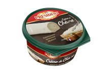 "Président introducerar ""Crème de"": Bredbar fransk ost med smak av chèvre Brie,"