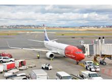 Norwegians første flyvning til Martinique.