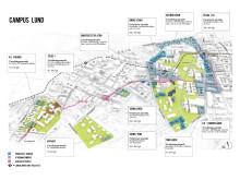 Översikt Campus Lund, studentbostadsutredning