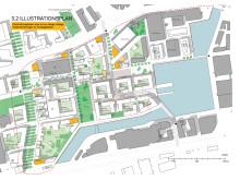 Illustrationsplan Varvsstaden