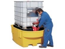Extrautrustat spilltråg för IBC