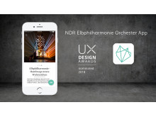 Nominiert - UX Design Awards 2018