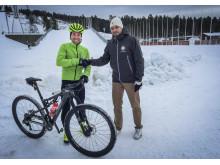 Securmark blir toppcyklisten Emil Lindgrens nya sponsor.