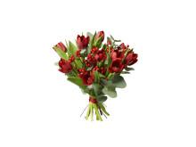Jul på Interflora: tulpanbuketten Strålande jul