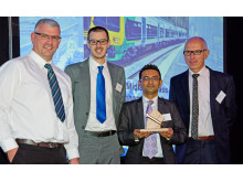 London Midland also won a bronze spanner for its Class 323 fleet