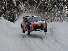 Loeb test inför Rally Sweden 2010