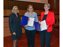 Vergabe der Forschungsförderung der Deutschen Alzheimer Gesellschaft an Prof. Eva Münster und Rieke Schnakenberg