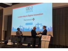 Norconsult awarded GeoBIM Leadership Award for Digital Innovation_Photo_Norconsult