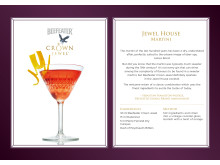 Beefeater Crown Jewel cocktailoppskrifter - Jewel House Martini