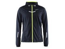 Weather jacket (men) i färgen black/flumino