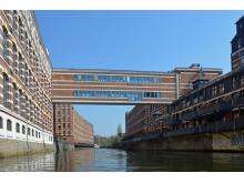 ehemalige Buntgarnwerke in Plagwitz an der Weißen Elster