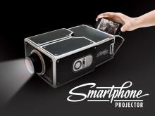DIY-projektor til smartphones