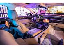 Audi Immersive In-Car Entertainment interiør på CES 2019