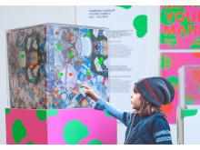 Vårutställning 2018, Framtida Fossiler, Carlotta Törnqvist, Grafisk design, Malmö universitet