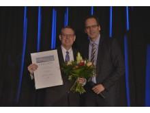 Reformationsbotschafter Dr. Robert Moore erhält den dritten Platz in der Kategorie Persönlichkeiten.