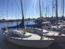 Lystbåde ved Hou Havn