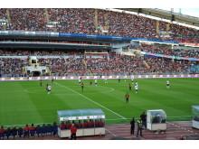 Kundaktivitet i samband med Supermatchen Manchester United - Barcelona 8 augusti 2012