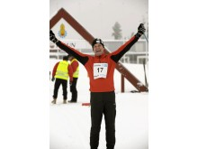 Jubel på Vinter-Korpiaden 2009 Foto: Ulf Palm