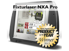 Fixturlaser NXA Pro Winner of Product of the Year 2013