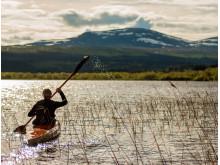 Paddling Funäsdalssjön
