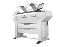 ColorWave 3500 4Roll Printer Only WHT FSR close up