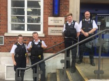 Richmond officers with body worn video
