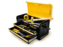 STANLEY Cajas de herramientas metálicas (4)