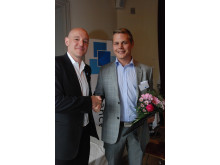 Viktor Nord, Sverige-Norge.se, Årets Unga Entreprenör västra Sverige, i Founders Awards