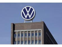 Volkswagens huvudkontor i Wolfsburg.
