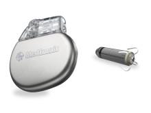 En almindelig pacemaker (t.v.) og en minipacemaker (t.h.).