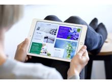 Digitala tjänster i framkant på Poseidons nya webb