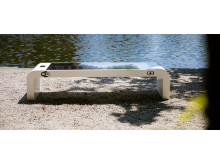 Smart Solar Bench, design Infra Marks