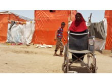 Flyktinglägret Mishqafa i Lahj. 11 juni 2019