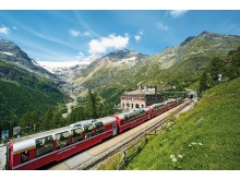 Walking the Trail of the Bernina Express