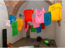 Att tvätta sin smutsiga byk, tvättstuga, Skopje
