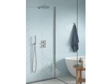 Silhouet inbyggnadsblandare för dusch.